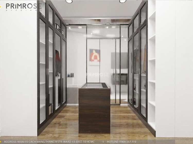 Thiết kế nội thất nhà phố 2 tầng phong cách hiện đại thiet ke nha pho hien dai 20