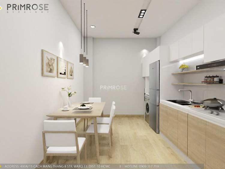 Thiết kế nội thất nhà phố 2 tầng phong cách hiện đại thiet ke nha pho hien dai 7