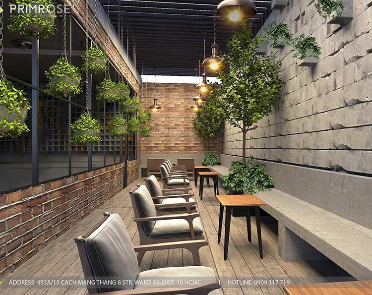 GARAGE CAFE - Mang phong cách công nghiệp hiện đại thiet ke quan cafe phong cach cong nghiep 12