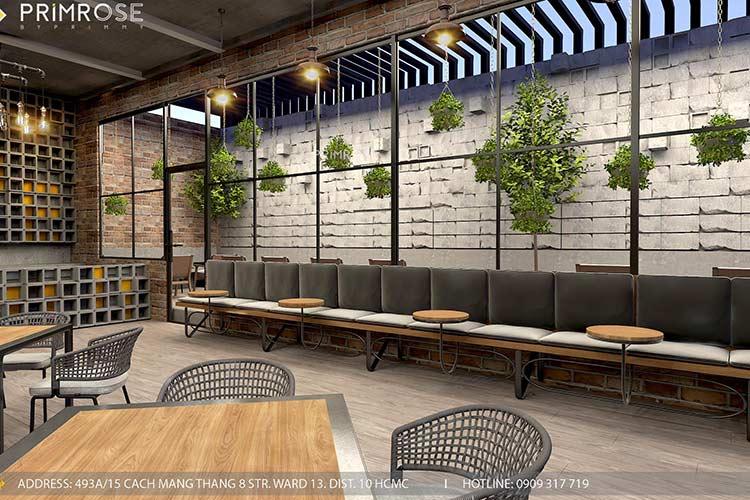 GARAGE CAFE - Mang phong cách công nghiệp hiện đại thiet ke quan cafe phong cach cong nghiep 4