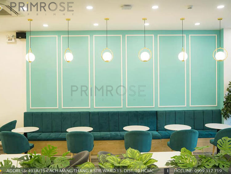SENSE DIY BAKERY AND TEA - Không gian quán cafe bánh mang phong cách đương đại thi cong noi that quan cafe banh 14