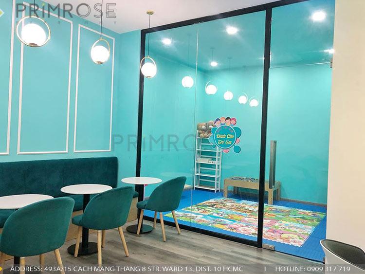 SENSE DIY BAKERY AND TEA - Không gian quán cafe bánh mang phong cách đương đại thi cong noi that quan cafe banh 17