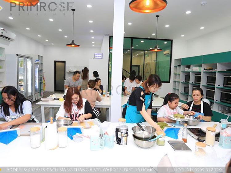 SENSE DIY BAKERY AND TEA - Không gian quán cafe bánh mang phong cách đương đại thi cong noi that quan cafe banh 19