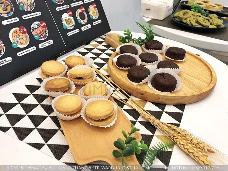 SENSE DIY BAKERY AND TEA - Không gian quán cafe bánh mang phong cách đương đại thi cong noi that quan cafe banh 26