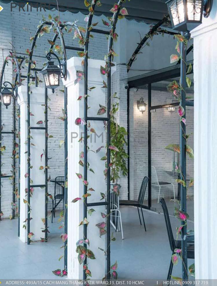 SENSE DIY BAKERY AND TEA - Không gian quán cafe bánh mang phong cách đương đại thi cong noi that quan cafe banh 3