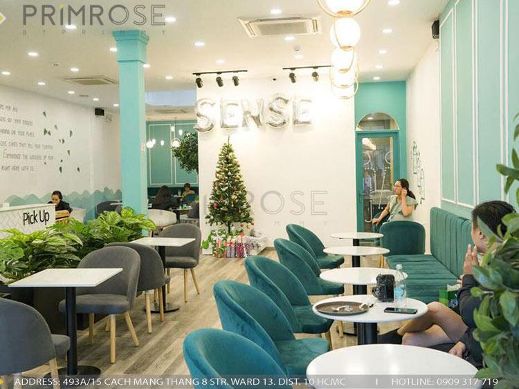 SENSE DIY BAKERY AND TEA - Không gian quán cafe bánh mang phong cách đương đại thi cong noi that quan cafe banh 8