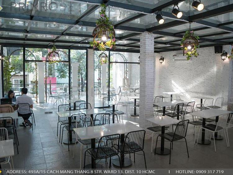 SENSE DIY BAKERY AND TEA - Không gian quán cafe bánh mang phong cách đương đại thi cong noi that quan cafe banh 9