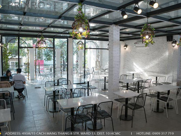 Dự án thi cong noi that quan cafe banh 9
