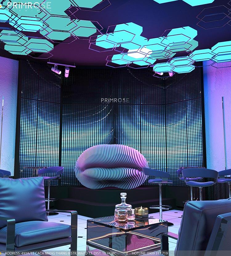Thiết kế nội thất không gian cafe - DJ hiện đại thi cong noi that bar 3