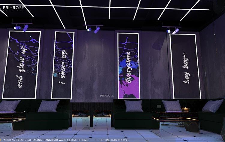 Thiết kế nội thất không gian cafe - DJ hiện đại thi cong noi that bar 4