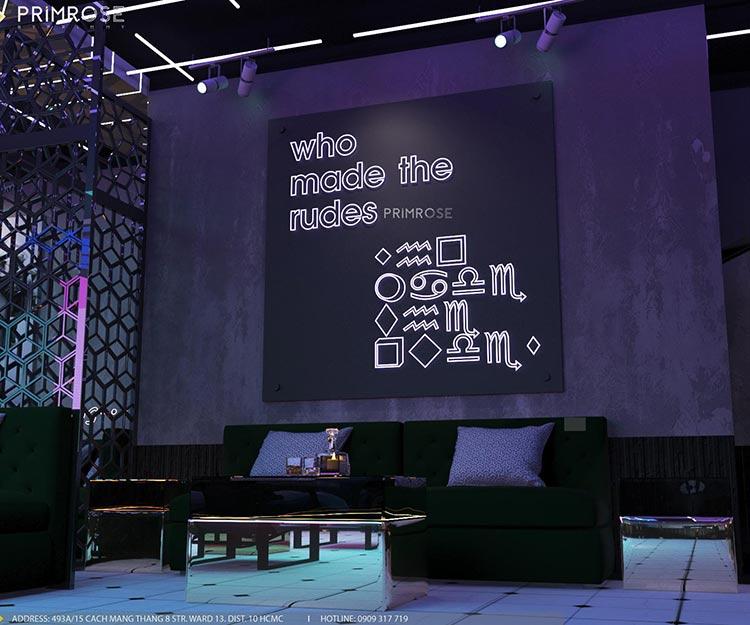 Thiết kế nội thất không gian cafe - DJ hiện đại thi cong noi that bar 6