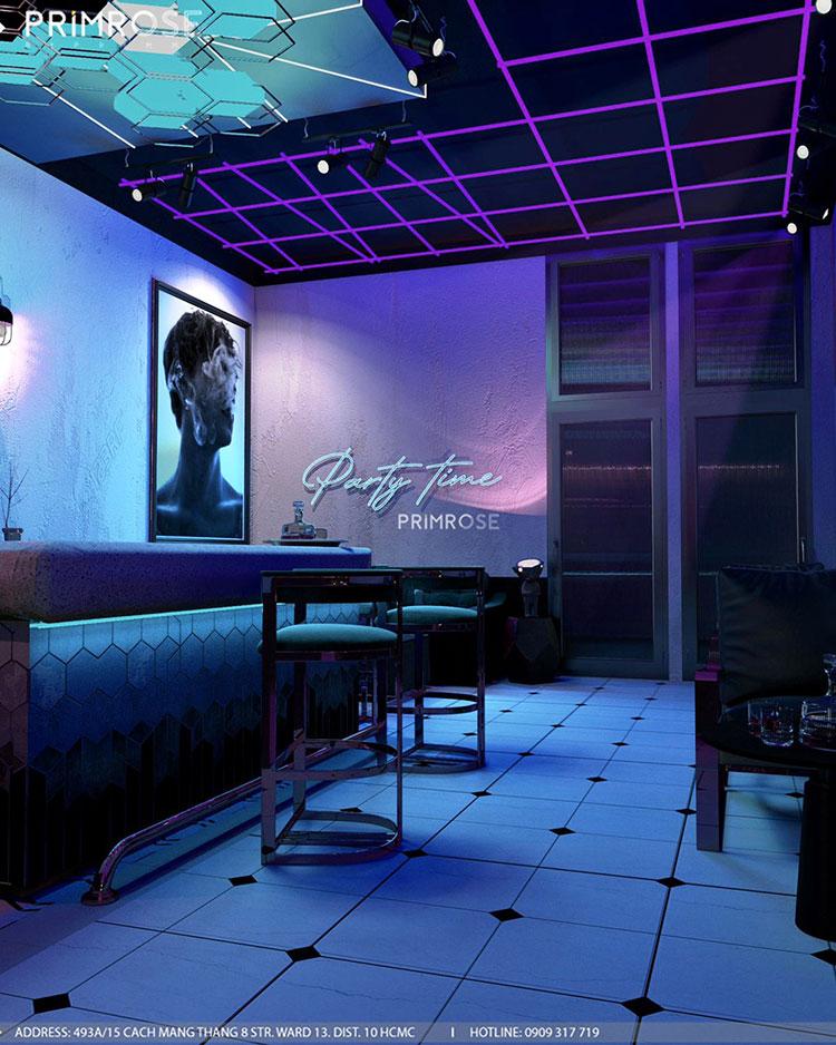 Thiết kế nội thất không gian cafe - DJ hiện đại thie ke noi that cafe dj 1