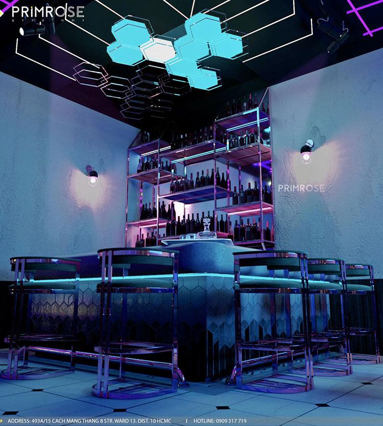 Thiết kế nội thất không gian cafe - DJ hiện đại thie ke noi that cafe dj 3