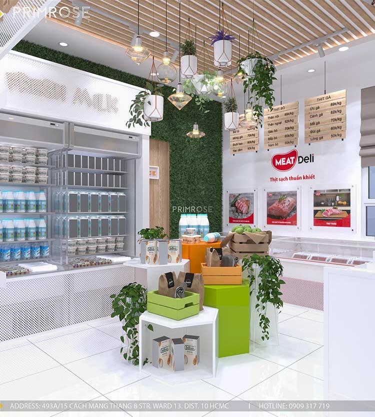 Dự án thiet thi cong cong chuoi showroom 8