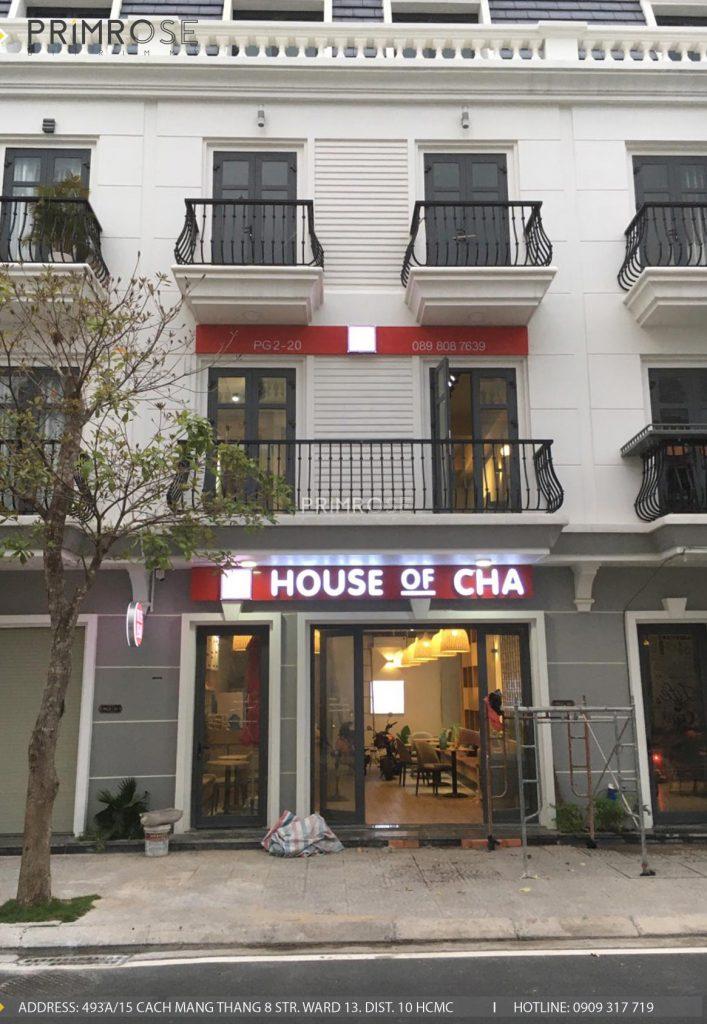 Thi công nội thất quán trà sữa House Of Cha - Trảng Bàng, Tây Ninh thi cong quan tra sua House Of Cha 10