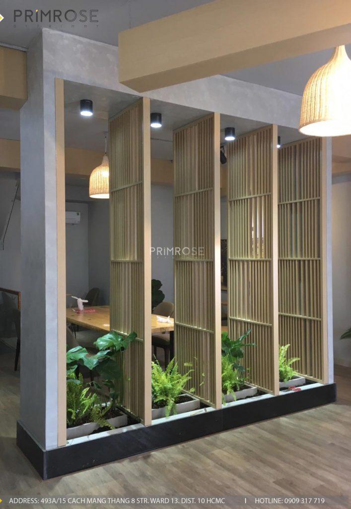 Thi công nội thất quán trà sữa House Of Cha - Trảng Bàng, Tây Ninh thi cong quan tra sua House Of Cha 2