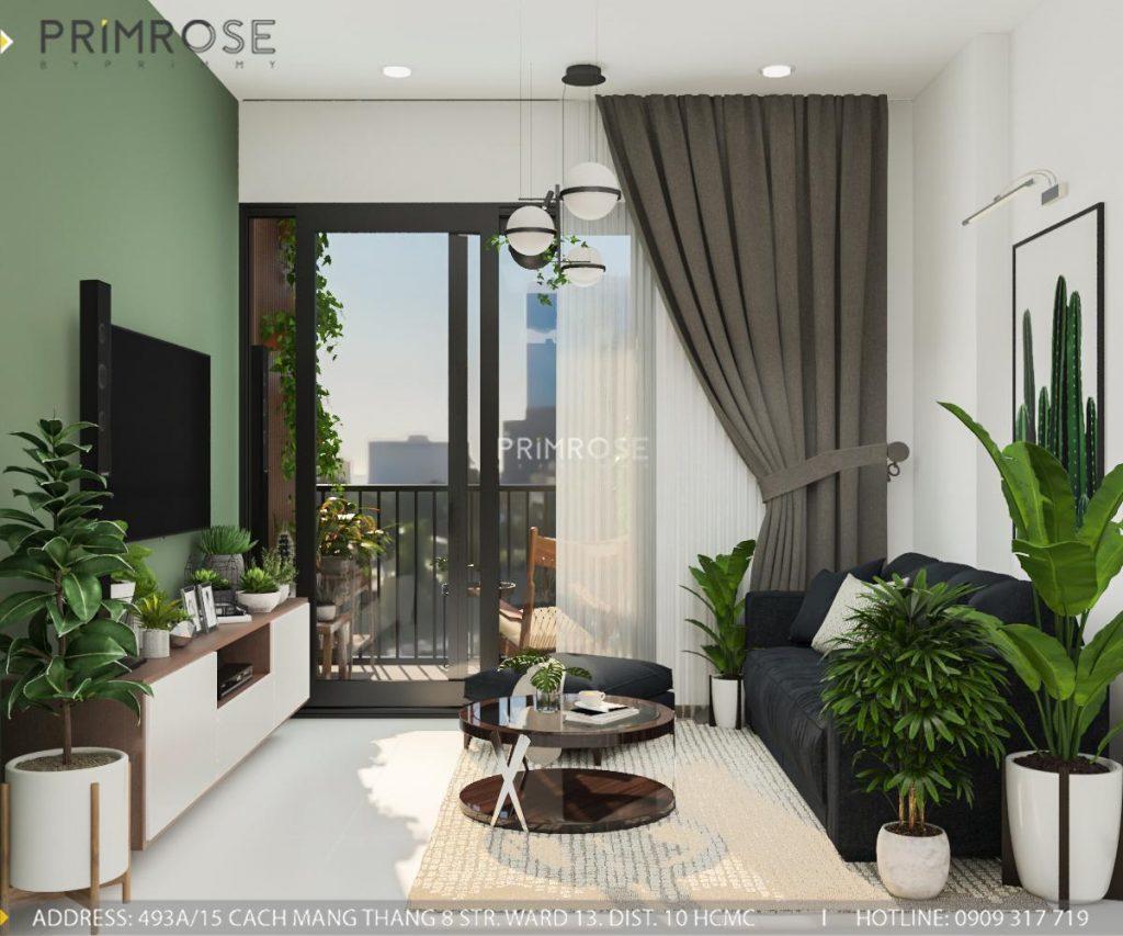 Thiết kế nội thất căn hộ Hado Centrosa Garden - Concept hiện đại thiet ke noi that can ho Ha Do 10