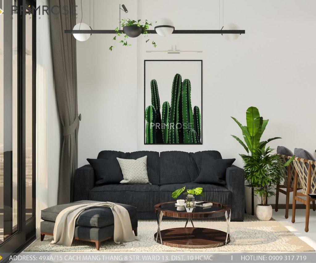 Thiết kế nội thất căn hộ Hado Centrosa Garden - Concept hiện đại thiet ke noi that can ho Ha Do 13
