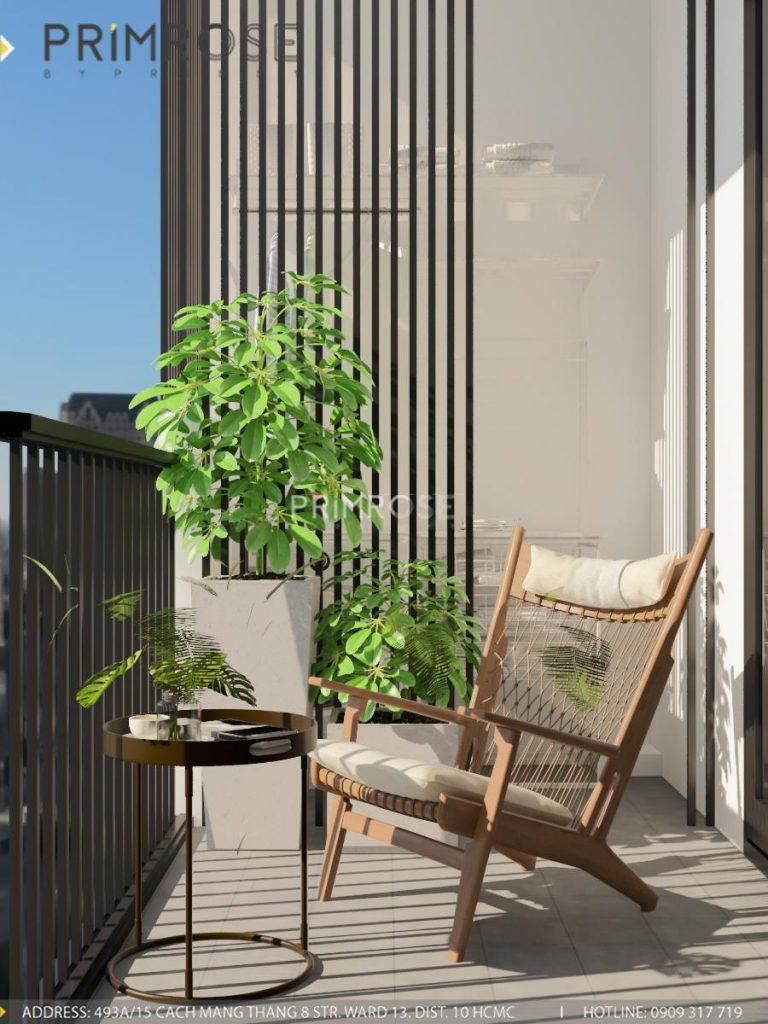 Thiết kế nội thất căn hộ Hado Centrosa Garden - Concept hiện đại thiet ke noi that can ho Ha Do 2