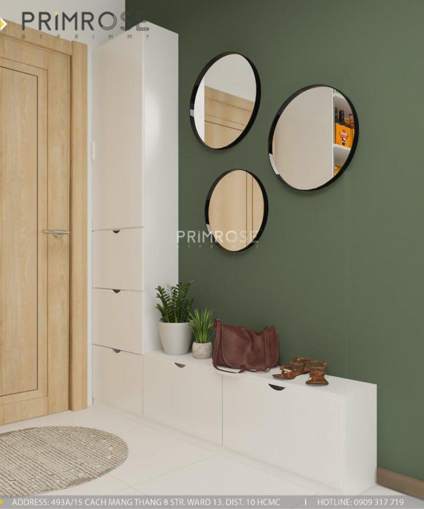 Thiết kế nội thất căn hộ Hado Centrosa Garden - Concept hiện đại thiet ke noi that can ho Ha Do 3
