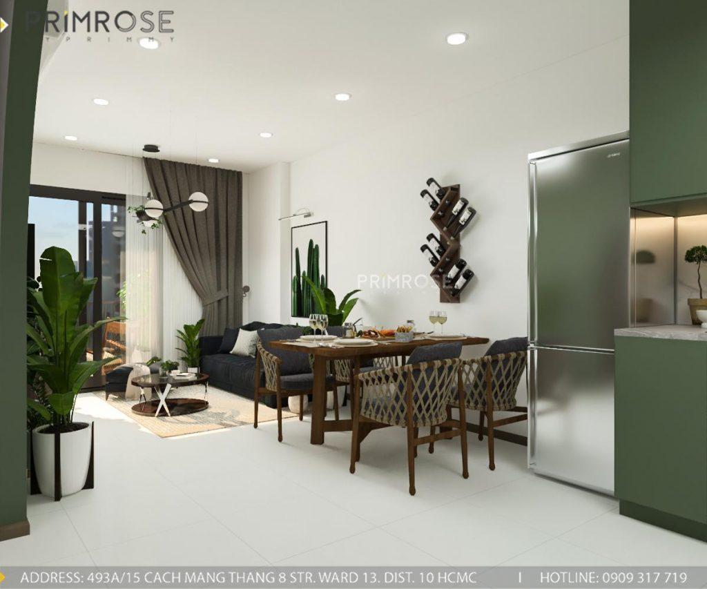 Thiết kế nội thất căn hộ Hado Centrosa Garden - Concept hiện đại thiet ke noi that can ho Ha Do 6