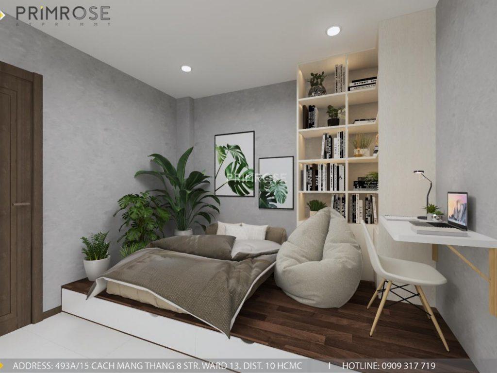 Thiết kế nội thất căn hộ Hado Centrosa Garden - Concept hiện đại thiet ke noi that can ho Ha Do 8