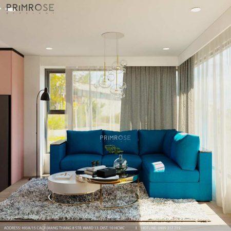 Thiết kế nội thất căn hộ KingDom 101 Quận 10