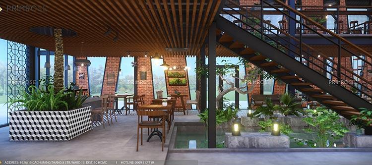 Cafe Codotel - Không gian quán cafe phong cách công nghiệp thiet ke noi that quan cafe Codotel 10
