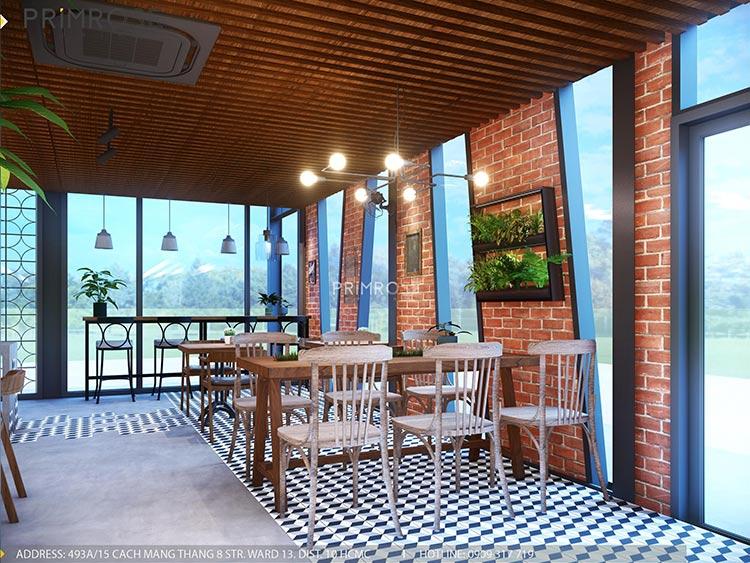 Cafe Codotel - Không gian quán cafe phong cách công nghiệp thiet ke noi that quan cafe Codotel 13
