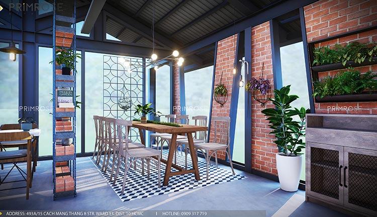 Cafe Codotel - Không gian quán cafe phong cách công nghiệp thiet ke noi that quan cafe Codotel 15