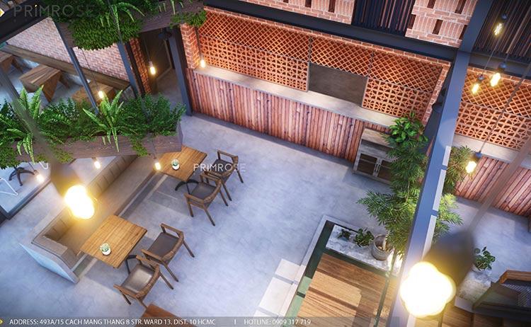 Cafe Codotel - Không gian quán cafe phong cách công nghiệp thiet ke noi that quan cafe Codotel 16