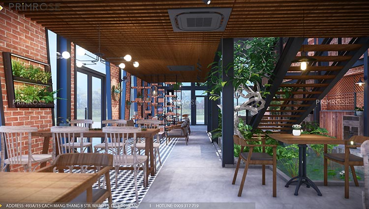 Dự án thiet ke noi that quan cafe Codotel 5