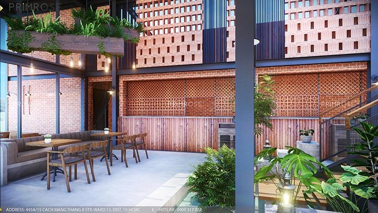 Cafe Codotel - Không gian quán cafe phong cách công nghiệp thiet ke noi that quan cafe Codotel 7