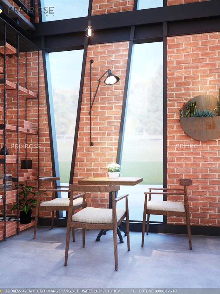 Cafe Codotel - Không gian quán cafe phong cách công nghiệp thiet ke noi that quan cafe Codotel 8