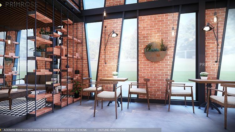 Cafe Codotel - Không gian quán cafe phong cách công nghiệp thiet ke noi that quan cafe Codotel 9