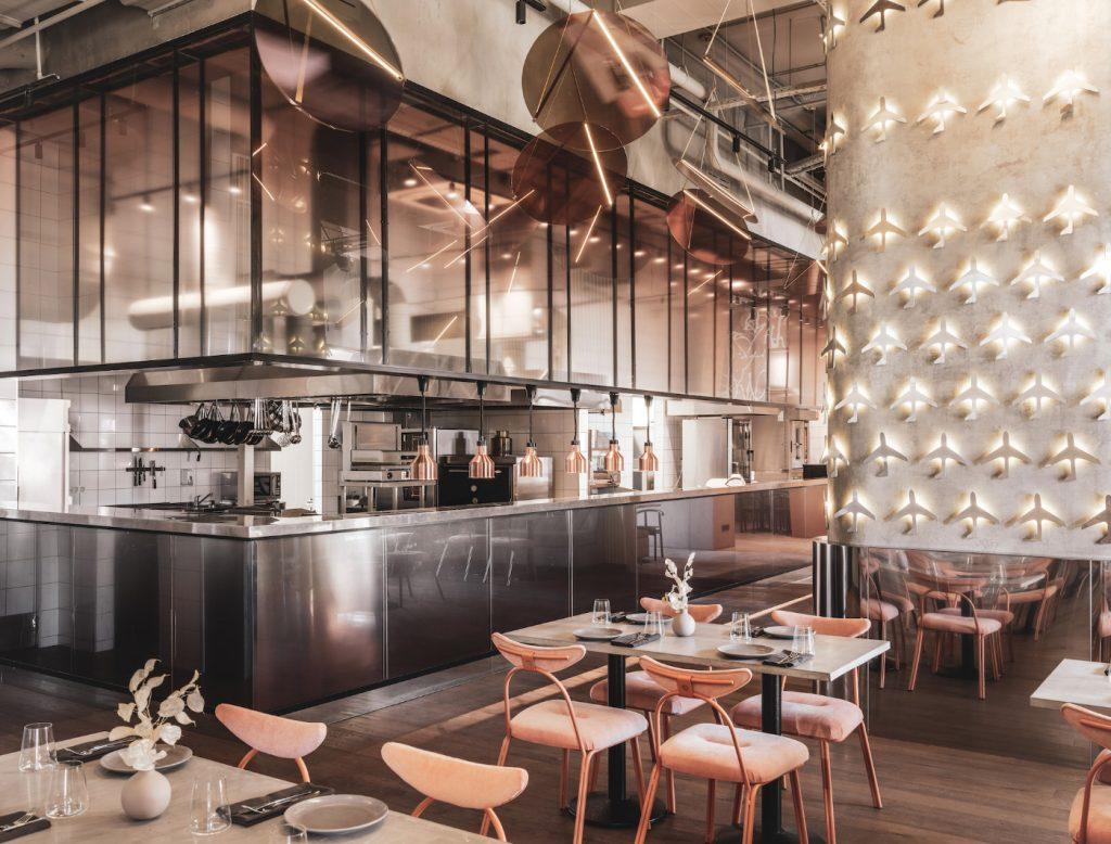 Thiết kế thi công nội thất quán cafe thiet ke thi cong noi that quan cafe 1