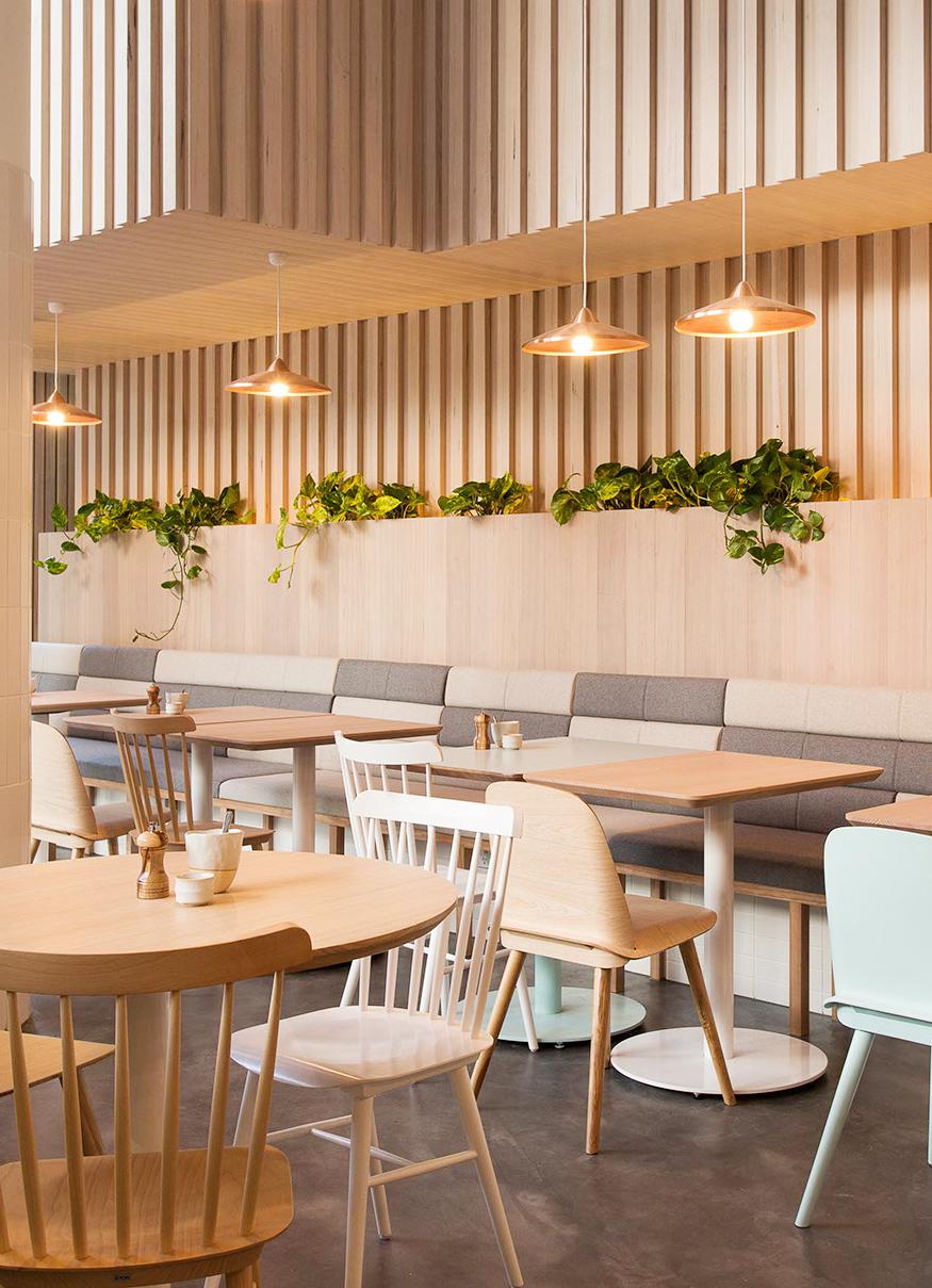 Thiết kế thi công nội thất quán cafe thiet ke thi cong noi that quan cafe 2