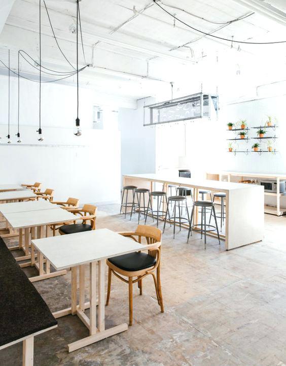 Thiết kế thi công nội thất quán cafe thiet ke thi cong noi that quan cafe 3