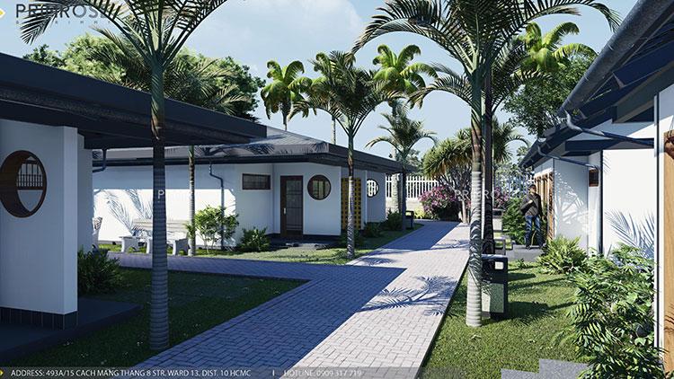 Thiết kế nội thất resort nghỉ dưỡng Codotel tại Bà Rịa THIET KE NOI THAT 1