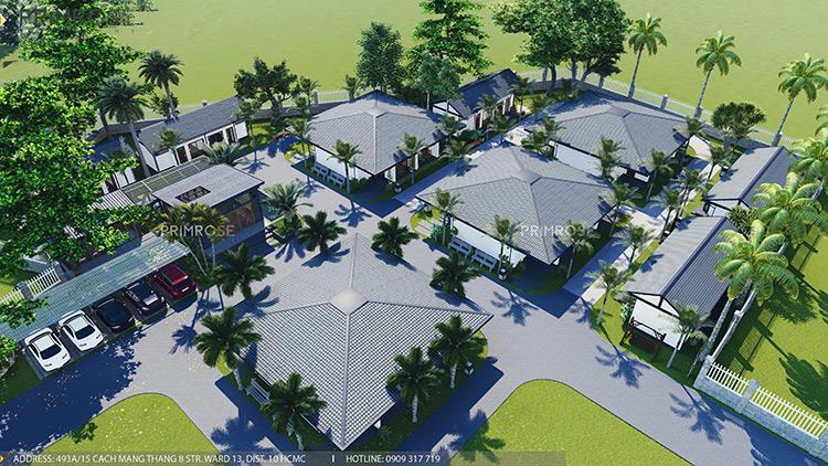 Thiết kế nội thất resort nghỉ dưỡng Codotel tại Bà Rịa THIET KE NOI THAT 3
