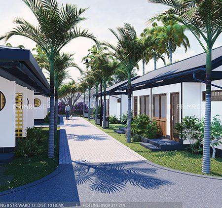 Thiết kế nội thất resort nghỉ dưỡng Codotel tại Bà Rịa