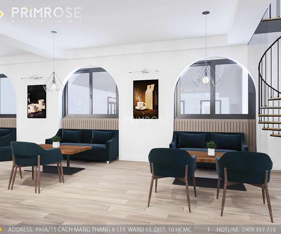 Loc Home Coffee - Đốn tim khách với thiết kế quán cafe phong cách Bắc Âu THIET KE NOI THAT COFFEE BINH CHANH 060820 17 12