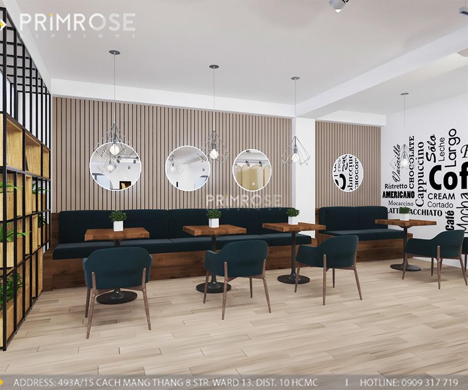 Loc Home Coffee - Đốn tim khách với thiết kế quán cafe phong cách Bắc Âu THIET KE NOI THAT COFFEE BINH CHANH 060820 17 14