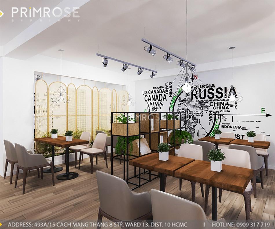 Loc Home Coffee - Đốn tim khách với thiết kế quán cafe phong cách Bắc Âu THIET KE NOI THAT COFFEE BINH CHANH 060820 17 15