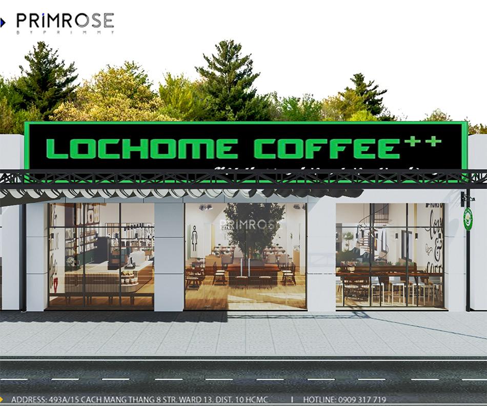 Loc Home Coffee - Đốn tim khách với thiết kế quán cafe phong cách Bắc Âu THIET KE NOI THAT COFFEE BINH CHANH 060820 17 3