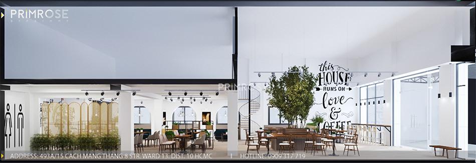 Loc Home Coffee - Đốn tim khách với thiết kế quán cafe phong cách Bắc Âu THIET KE NOI THAT COFFEE BINH CHANH 060820 17 5