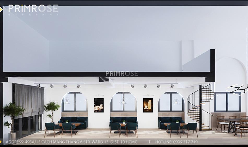 Loc Home Coffee - Đốn tim khách với thiết kế quán cafe phong cách Bắc Âu THIET KE NOI THAT COFFEE BINH CHANH 060820 17 7