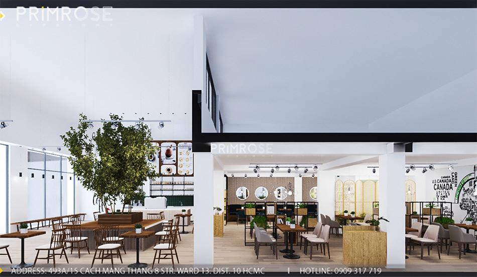 Loc Home Coffee - Đốn tim khách với thiết kế quán cafe phong cách Bắc Âu THIET KE NOI THAT COFFEE BINH CHANH 060820 17 9
