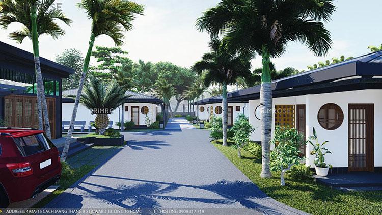 Thiết kế nội thất resort nghỉ dưỡng Codotel tại Bà Rịa primrose