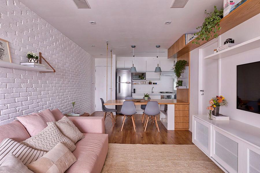 Thiết kế căn hộ phong cách Scandinavian với gam màu Pastel ấm áp thiet ke can ho hien dai 1